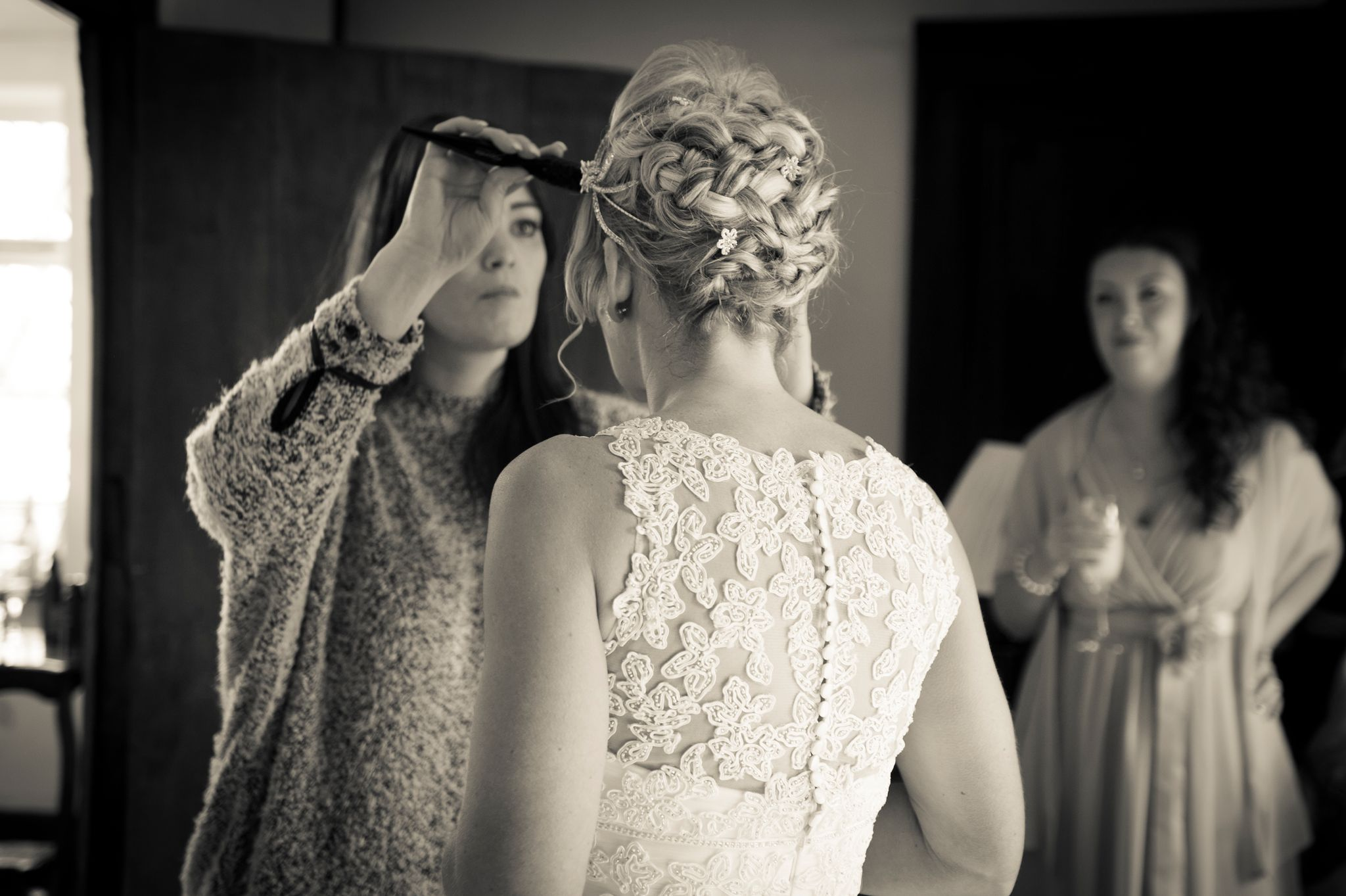 preparation of the bride