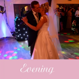 wedding evening photography