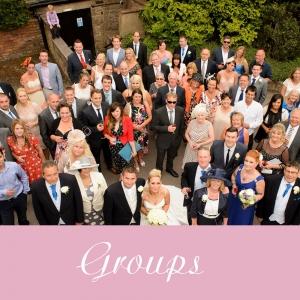 wedding group photography